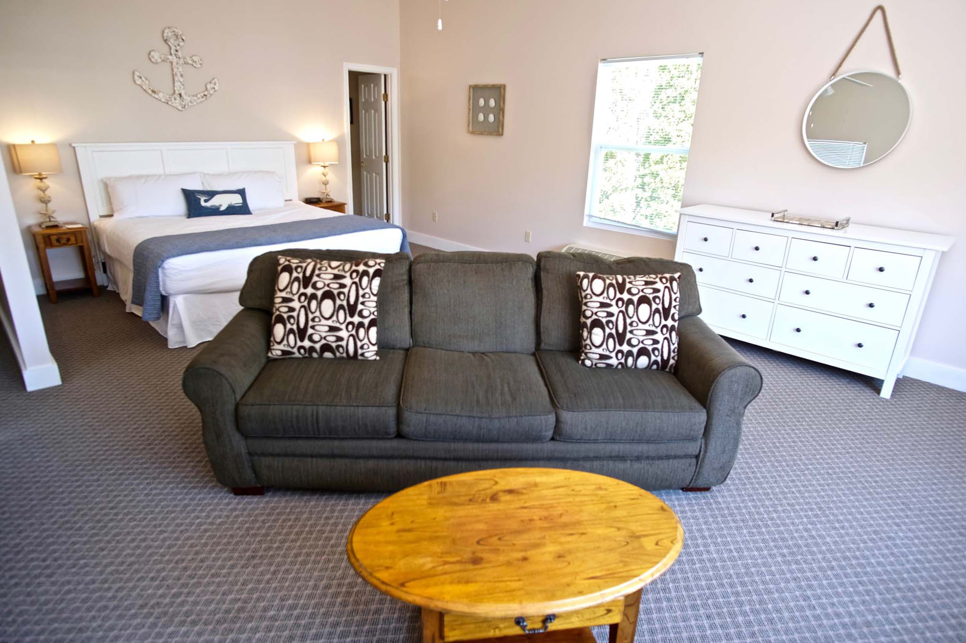 Image for Oceanview Cottage, 1 King, Fireplace, Sofa Bed