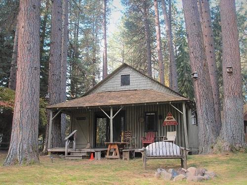 Image for Log - Riverfront Cabin