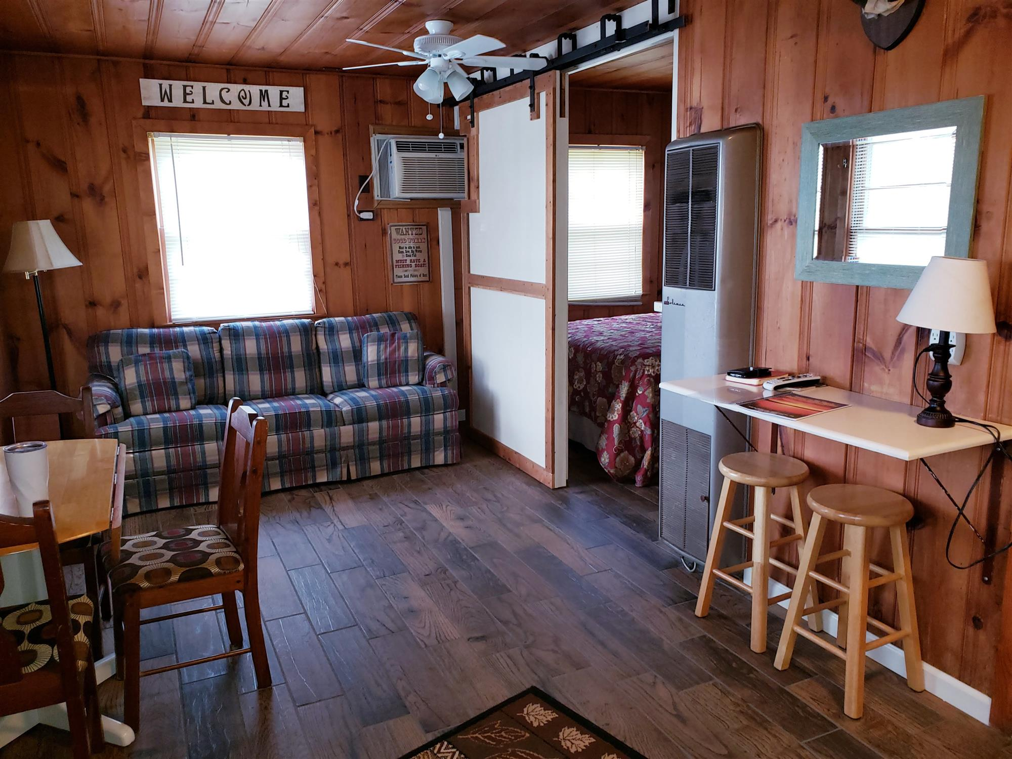 Image for CABIN ONE: 2-BEDROOMS - ONE QUEEN/ONE FULL
