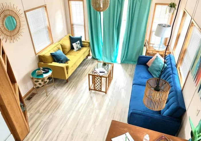Image for 11) Boho Cabin