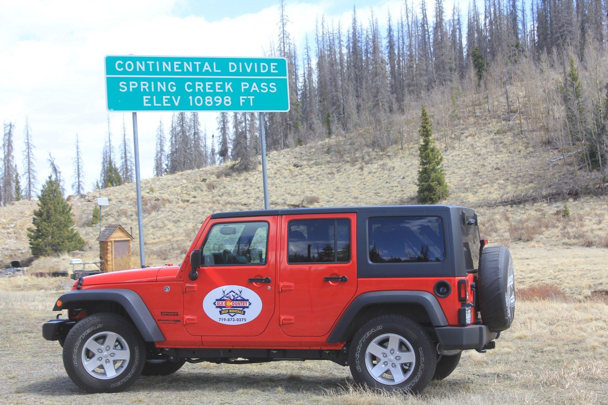 Image for JR) Jeep Rental - Red