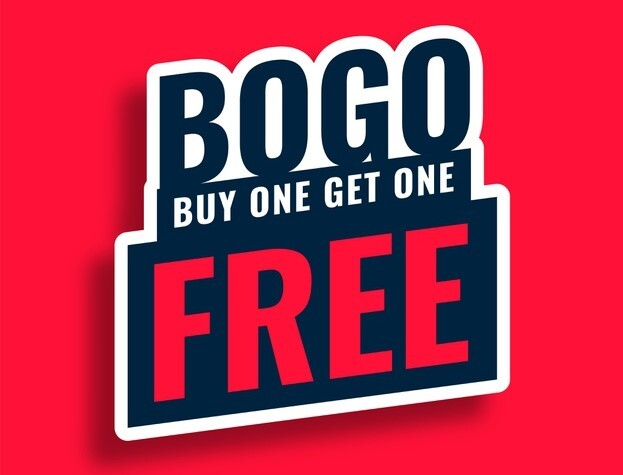 buy one get one free promo