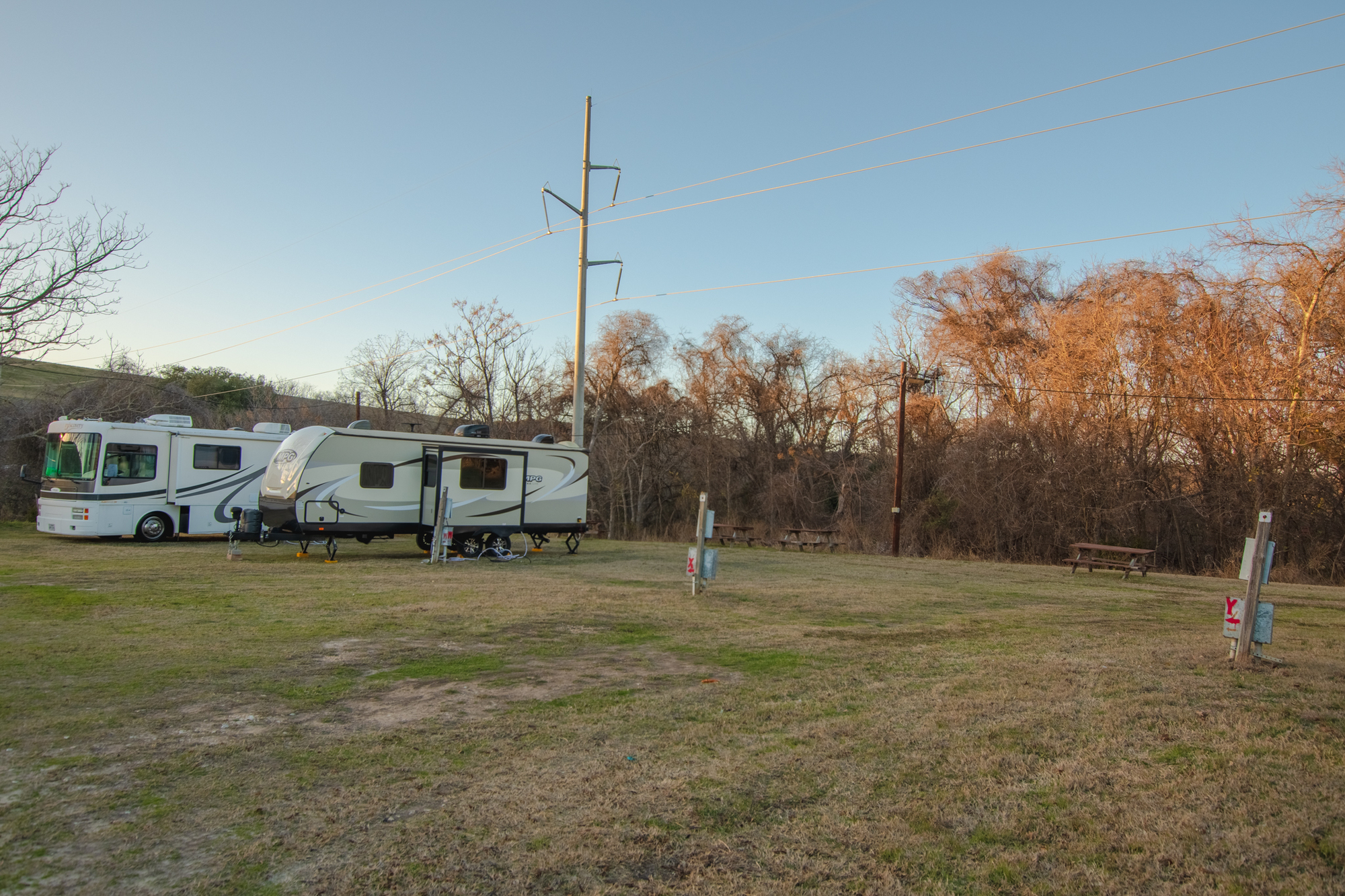 Image for Y) Third Row Back in Rv Site (no sewer)